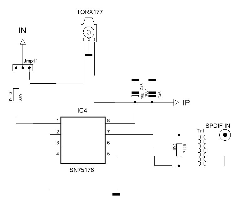 Схема включения PCM1794: