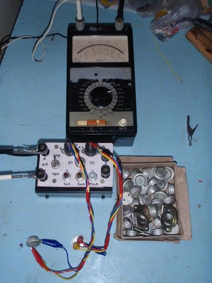 Тестер мощных транзисторов